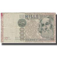 Billet, Italie, 1000 Lire, KM:109a, B - [ 2] 1946-… : Républic