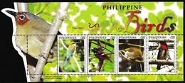 MNH Philippines 2019 - Birds - Sperlingsvögel & Singvögel
