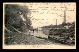 92 - LEVALLOIS-PERRET - VUE DE LA JATTE - PENICHE A QUAI - Levallois Perret