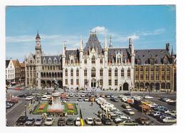 Brugge N°500 391 Hôtel Du Gouvernement En 1982 Autoss Citroën CX 2CV BMW Peugeot 504 VW Käfer Porsche ? Noire - Brugge