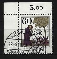 BUND Mi-Nr. 1149 Eckrandstück Links Oben Gestempelt - Usati