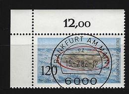 BUND Mi-Nr. 1144 Eckrandstück Links Oben Gestempelt (2) - Usati