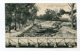CPA  51 :  REIMS  LA NEUVILLETTE Creusement Du Canal        A  VOIR   !!!!!! - Reims