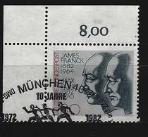BUND Mi-Nr. 1147 Eckrandstück Links Oben Gestempelt - Usati