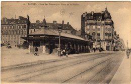 Rennes Gare Des Tramways Place De La Mission - Rennes