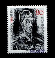BUND 1986 Nr 1272 ** Mit MUSTER Handstempel (95007) - BRD
