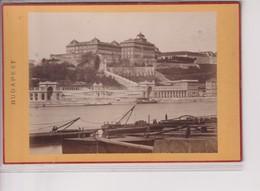 UNGARN HUNGARY BUDAPEST BUDAPESTEN   16*10CM Fonds Victor FORBIN 1864-1947 - Ancianas (antes De 1900)