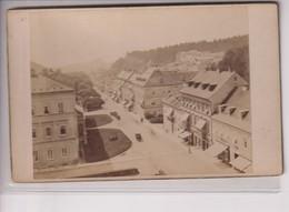 MARIENBAD UND UMGEBUNG KAISERSTRASSE  REPUBLIQUE TCHEQUE K MALOCH HOF PHOTOGR PRAG 16*10CM Fonds Victor FORBIN 1864-1947 - Photos