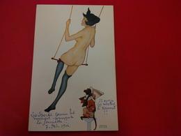 ILLUSTRATEUR RAPHAEL KIRCHNER LULU FEMME NU - Kirchner, Raphael