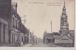 ALBERT   Rue Jeanne D'Harcourt - Albert