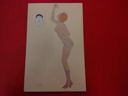 ILLUSTRATEUR RAPHAEL KIRCHNER LA GOURMANDISE FEMME NU - Kirchner, Raphael