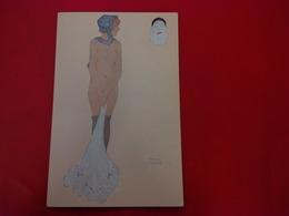 ILLUSTRATEUR RAPHAEL KIRCHNER L ENVIE FEMME NU - Kirchner, Raphael