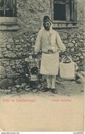 CPA TURQUIE Salut De Constantinople Galcier Ambulant Rare - Turquie