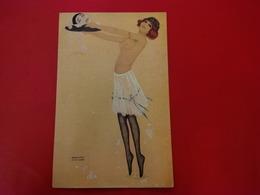 ILLUSTRATEUR RAPHAEL KIRCHNER SALOME MONTMARTROISE FEMME NU - Kirchner, Raphael