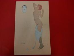 ILLUSTRATEUR RAPHAEL KIRCHNER LA PARESSE FEMME NU - Kirchner, Raphael