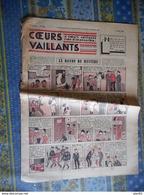 COEURS VAILLANTS 1936 N° 23 LE RAYON DU MYSTERE TINTIN ET MILOU En EXTREME ORIENT HERGE - Tintin