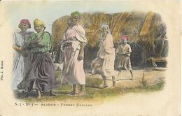 CPA - Algérie - Femmes Kabyles - Argelia