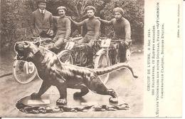 CIRCUIT DE L'EURE , 3 Mai 1914 - 288 Km , 12 équipes Engagées - L'Equipe Victorieuse Sur MOTO DOUGLAS , Pneus Hutchinson - Sport Moto