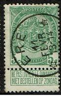 83  Obl Relais  Ere  + 15 - 1893-1907 Coat Of Arms