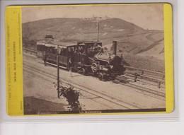 1880   KAHLENBERG UMGEBUNG VON WIEN M FRANKENSTEIN AND CO WIEN  16*10CM Fonds Victor FORBIN 1864-1947 - Trenes