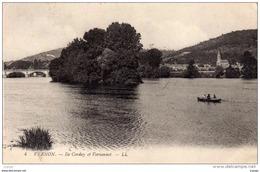 VERNON - Ile Corday Et Vernonnet - Carte écrite En 1913.   2 Scans TBE - Vernon