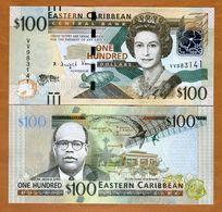 Eastern East Caribbean, $100, ND (2016) , P-New, UNC > Upgraded - Oostelijke Caraïben