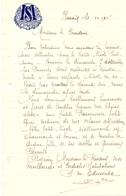 Brief Lettre - Soeur Edmonda Drirectrice - Renaix Ronse 1947 - Oude Documenten