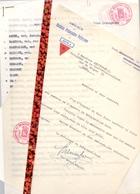 Brief Lettre - Oorlog - Politieke Gevangenen - Prisonniers Politiques DORA - Ledenlijst Oost Vl., Liste Des Membres 1947 - Oude Documenten