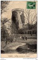 VERNON Tour Des Archives(XIIIéme Siècle)     Carte écrite En1909 - Vernon