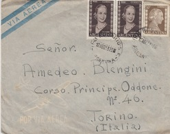 A/6 - BUSTA - STORIA POSTALE - DA ROSARIA (ARGENTINA) A TORINO - Storia Postale