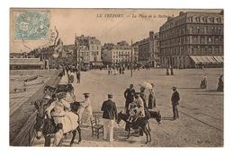 76 SEINE MARITIME - LE TREPORT La Place De La Batterie - Le Treport
