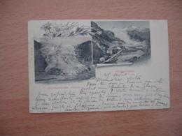 1901 Glacier Du Rhone  2 Vues - VS Valais
