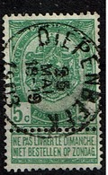 56  Obl  Diepenbeek  + 15 - 1893-1907 Coat Of Arms