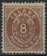 Iceland Island 1873. Mi 4A MH - Neufs