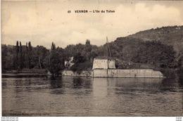 VERNON L'Ile Du Talus. Carte écrite En 1914   2 Scans TBE - Vernon