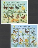 PK286 GHANA FAUNA BUTTERFLIES WORLD STAMP EXPO AUSTRALIA 99 2KB MNH - Schmetterlinge