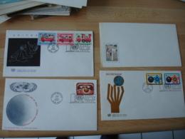 Nations Unies  Lot De  11 Fdc Enveloppe 1 Er Jour - New-York - Siège De L'ONU