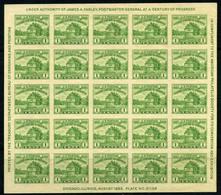 Estados Unidos Nº 1A. Año 1933 - Neufs