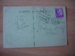 Daguin Chinon Grand Renom Son Chayeau Ses Vins Flamme Sur Lettre - Poststempel (Briefe)