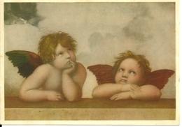 ANGELI  Particolare MADONNA DI SAN SISTO  Raffaello   Galleria Dresda - Angeli