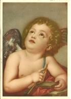 AMORE CHE AFFILA UN DARDO  Raphael Mengs  Pinacoteca Di Dresda - Angeli