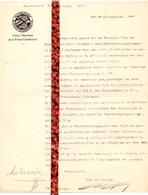 Brief Lettre - Sluikpers Oost Vlaanderen - Union Nat. De La Presse Clandestine - Programma Gent 1946 - Oude Documenten
