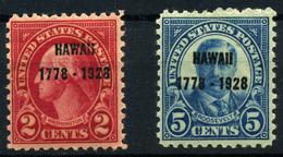 Estados Unidos Nº 277/78. Año 1928 - United States