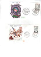 Paul DUKAS Lot De 2 Enveloppes 1er Jour Du 13/02/1965 - FDC