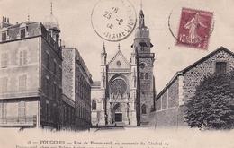 Fougeres Rue De Pommereul En Souvenir Du Général Pommereul Chez Qui Balzac écrivit Son Roman Les Chouans - Fougeres