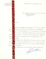 Brief Lettre - Opera Zanger Achiel Somers - Blankenberge 1950 - Oude Documenten