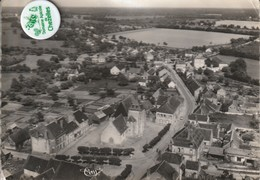 89 - Carte Postale Semi Moderne De  CHAMPCEVRAIS    Vue Aérienne - Other Municipalities