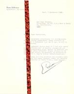 Brief Lettre - Opperdeken Der Stad Gent - Louis Aelterman 1950 - Oude Documenten
