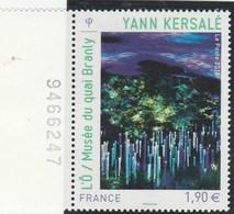FRANCE 2015 YANN KERSALE MUSEE DU QUAI BRANLY NEUF** YT 4935 +BDF - France