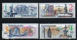 1988 Czechoslovakia MNH - Mi 2961-2964 ** MNH - Ungebraucht